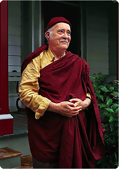 Venerable Namgyal Rinpoche